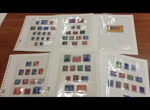 Sammlung DDR 1949-64 ** (wenige *) und gestempelt fast komplett !
