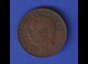 Portugal Kursmünze Rei Luiz X Reis 1883