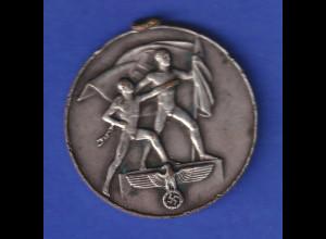Deutsches Reich 1938 Silbermedaille 13.März 1938