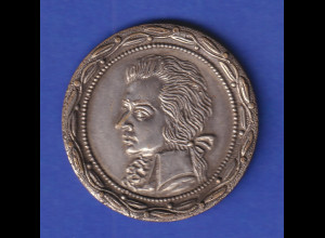 Alte Medaille Wolfgang Amadeus Mozart