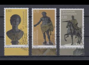 Liechtenstein 2019 Fürstliche Schätze Skulpturen von Antico Mi.-Nr. 1954-56 ET-O