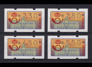Schweden 1992 Klüssendorf ATM Mi.-Nr. 2 Satz 4 Werte 230-280-450-550 **