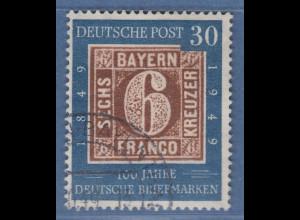 Bundesrepublik 1949 Briefmarken Mi.-Nr. 115 sauber O geprüft Schlegel BPP