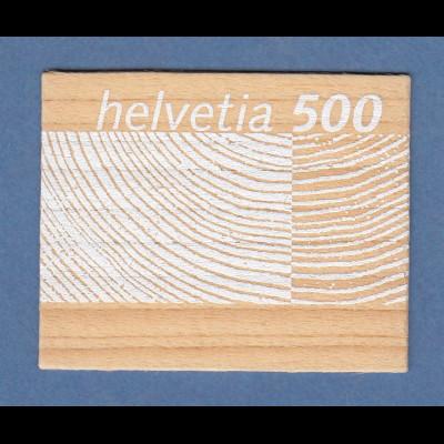 Schweiz 2004 Rohstoff Schweizer Holz Holz-Briefmarke Mi.-Nr. 1889 postfrisch **