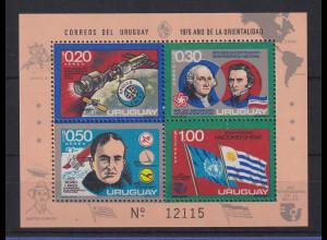 Uruguay 1975 Blockausgabe Mi.-Nr. Block 26 **