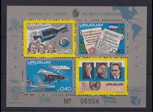 Uruguay 1975 Blockausgabe Mi.-Nr. Block 27 **
