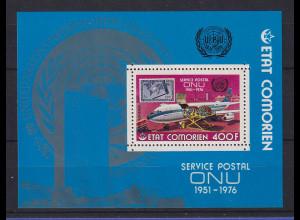 Komoren 1976 25 Jahre UNO, Lufthansa Boeing 707 Block **
