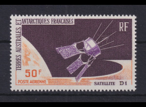 Französische Antarktis TAAF Start des Satelliten D1 Mi.-Nr. 35 **