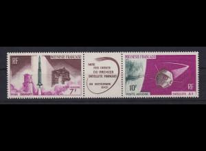 Französisch-Polynesien Start des ersten franz. Satelliten Mi.-Nr. 52-53 **