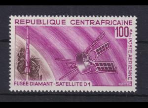 Zentralafrikanische Republik 1966 Start des franz. Satelliten D1 Mi.-Nr. 119 **
