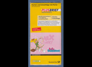 Deutsche Post Plusbrief Individuell Bibi Blocksberg Set 3 Karten und Umschläge