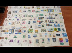 Ägypten 1960er Jahre Sammlung Ersttagsbriefe, insgesamt 150 Stück