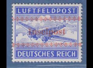 Dt.Reich Feldpostmarke Inselpost Kreta Mi.-Nr. 7A * gepr. Richter