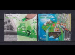 Bosnien-Herzegowina 2016 EUROPA Umweltschutz Mi.-Nr. 687-88 **