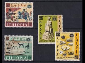 Äthiopien / Ethiopia 1967 Tourismus Mi.-Nr. 572-75 Satz 4 Werte **