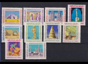 Irak / Iraq 1967 Tourismus Mi.-Nr. 504-13 Satz 10 Werte **