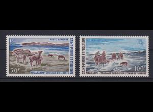 St. Pierre et Miquelon 1969 Tourismus Mi.-Nr. 433-36 Satz kpl. **