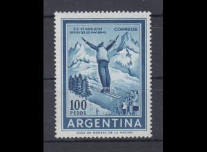 Argentinien Wintersport Skispringer 100 Pesos Mi.-Nr. 770 **