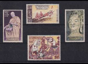 Laos Budhismus Mi.-Nr. 70-73 Satz 4 Werte **