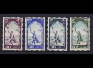 Libanon 1955 Tourismus-Jahr Mi.-Nr. 545-48 A **
