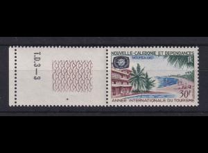 Neukaledonien 1967 Jahr des Tourismus Mi.-Nr. 436 **