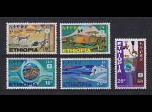 Äthiopien 1969 Afrikanisches Tourismus-Jahr Mi.-Nr. 620-24 Satz 5 Werte **