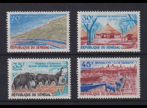 Senegal 1969 Landestypische Motive Mi.-Nr. 411-14 Satz 4 Werte **