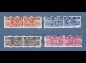 Italien 1953 Paketzustellungsmarken Wz.3 40-50-75-110 Mi.-Nr. 1-4 Satz kpl. **