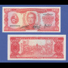 Banknote Uruguay 100 Pesos (1967) in bankfrischer Erhaltung !