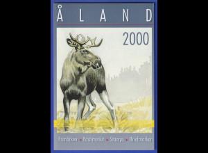 Aaland amtliches Briefmarken-Jahrbuch der Post Jahrgang 2000 kpl. bestückt **