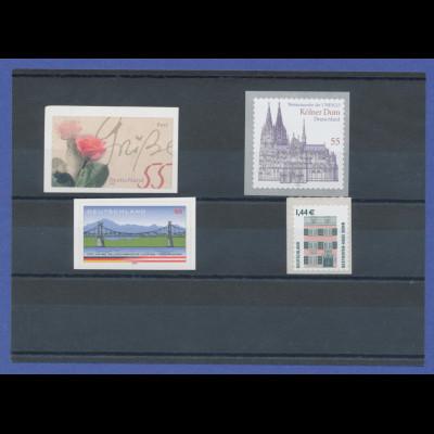 Bundesrepublik alle selbstklebenden Briefmarken des Jahrgangs 2003 komplett **