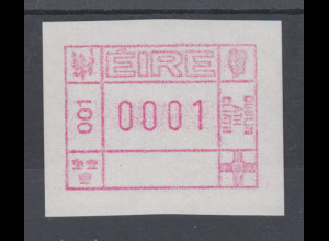 Irland FRAMA-ATM 1.Ausgabe 1990, Mi.-Nr. 1 **