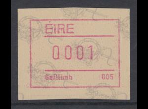 Irland Frama-ATM 2.Ausgabe 1992 Tara-Brosche, Mi.-Nr. 4 **