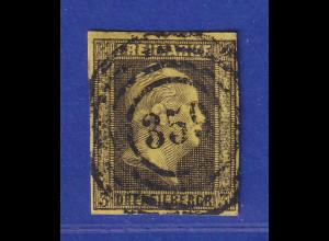 Altdeutschland Preussen Wilhelm IV. 3 Sgr. Mi.-Nr. 4a gest mit Nr.-O 359