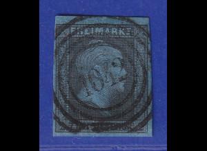 Altdeutschland Preussen Wilhelm IV. 2 Sgr. Mi.-Nr. 3 mit Nr.-O 1042 Neuwied