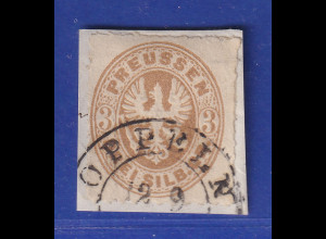 Altdeutschland Preussen Adler 3 Sgr. Mi.-Nr. 18a gestempelt OPPELN