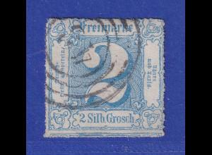 Altdeutschland Thurn & Taxis 2Sgr. Mi.-Nr. 39 gestempelt