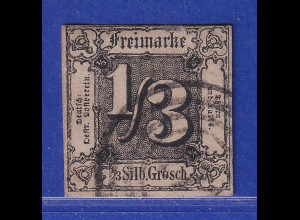 Altdeutschland Thurn & Taxis 1/3 Sgr. Mi.-Nr. 2 gestempelt