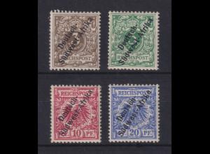 Deutsch-Südwestafrika Mi.-Nr. 1-4 Satz 4 Werte kpl. ungebraucht *