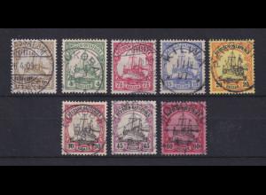 Deutsch-Ostafrika Mi.-Nr. 22-29 Satz 8 Werte kpl. gestempelt