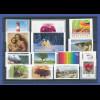 Bundesrepublik alle selbstklebenden Briefmarken des Jahrgangs 2012 komplett **