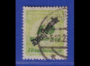 Dt. Reich Dienstmarke Inflation 10 Milliarden Mi.-Nr. 86 O gepr. Infla.