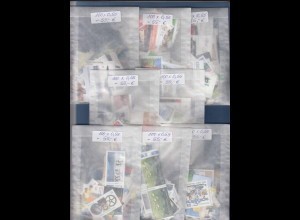 Frankaturware Deutschland orig. postfrisch, 800 x 0,55€ = 440€ Frankaturwert