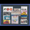 Bundesrepublik alle selbstklebenden Briefmarken des Jahrgangs 2010 komplett O