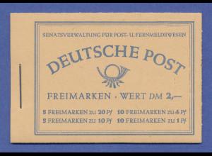 Berlin Markenheftchen Nr. 2 ** in einwandfreier Qualität.