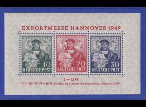 Bizone Hannover-Messe Blockausgabe Mi.-Nr. Block 1 **