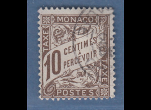 Monaco 1885 Freimarke Fürst Charles III. 5 Fr. Mi.-Nr. 10 gestempelt