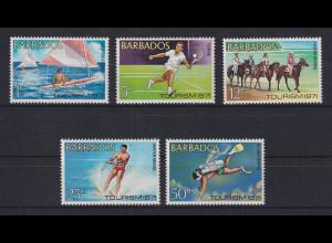 Barbados 1971 Tourismus Mi.-Nr. 326-30 kpl. **