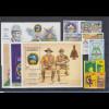 Pfadfinder Scoutism Jamborée aus aller Welt umfangr. Lot ** auf 13 Steckkarten