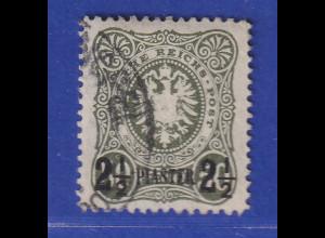 DAP Deutsche Post in der Türkei Mi.-Nr. 5b gestempelt gpr. Jäschke BPP